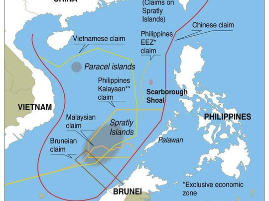 map of china sea Vietnam Tells Importers To Reject Items With Disputed South China map of china sea