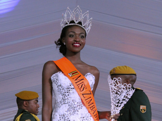 #BollywoodBai: Miss Zimbabwe Emily Kachote stripped of title after nude photos surface