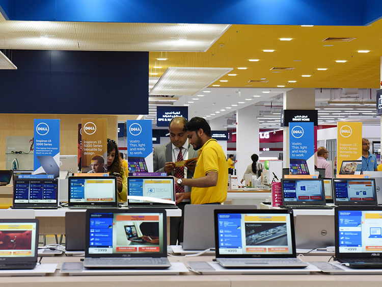 New Sharaf DG store integrates technology