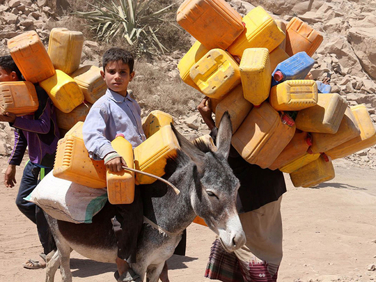 Image result for yemen water problems
