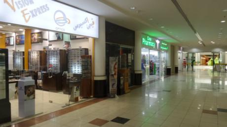 cf47786cb Empty glittering mall in Sharjah