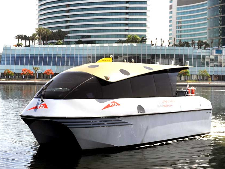 How to book a Water Taxi in Dubai