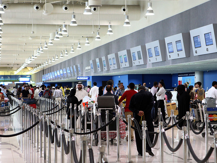 Passenger Car Fire Extinguished In Dubai Airport S Terminal 2 Uae Gulf News