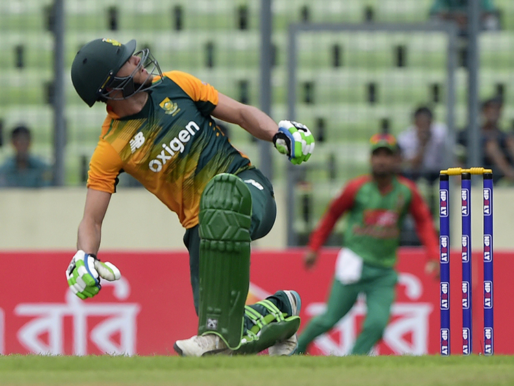 South Africa's Faf Du Plessis sets up crushing win over Bangladesh