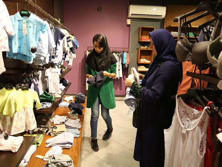 bc8a062eb05 Hopes for shopping revolution as malls sprout in Iran