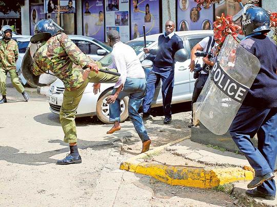 VIDEO: Kenya police killings on the increase - report | eNCA