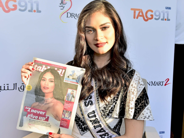 Miss Universe Pia Wurtzbach charms Dubai | Fashion – Gulf News