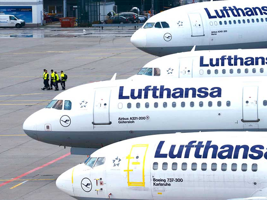 Lufthansa's Debt priorities mean taking fewer Airbus planes