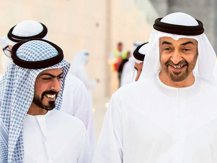 Khalifa Bin Tahnoun Inaugurates The Steps Program For The Sons Of Martyrs Teller Report