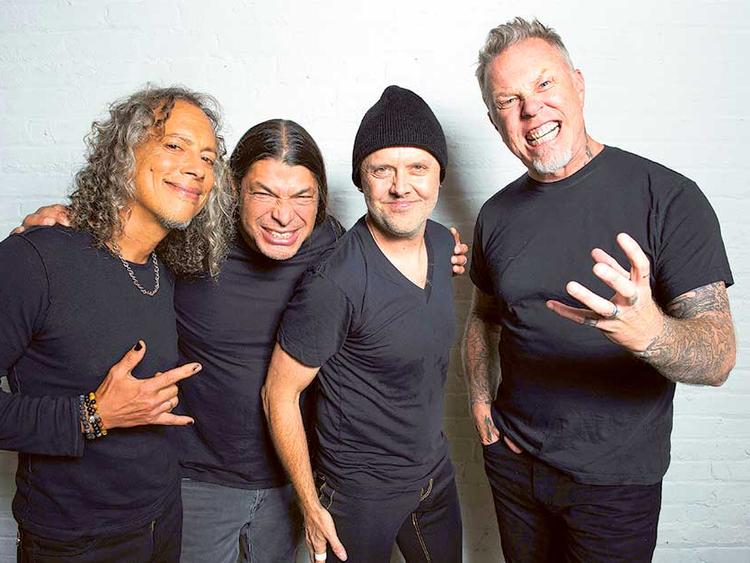 Metallica top Billboard chart with new album