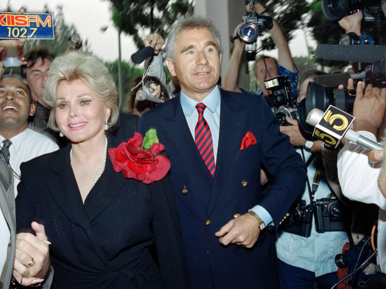 Zsa Zsa Gabor The Full List Of 9 Husbands Hollywood
