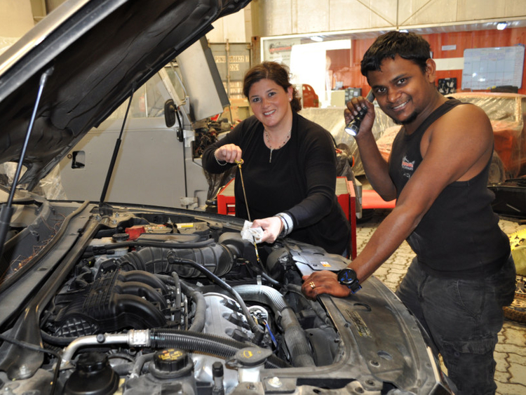 First auto workshop launched for UAE women drivers | Uae
