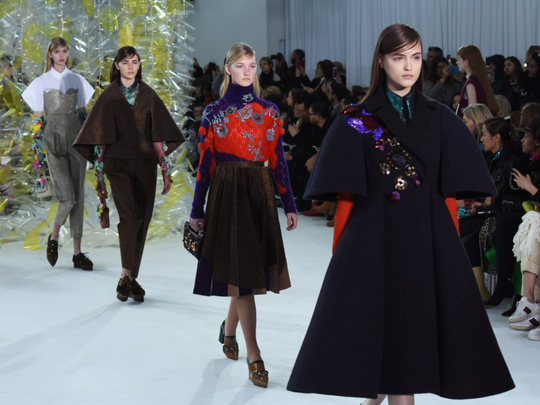Nyfw Delpozo S Dainty Volume Severe Geometry Fashion Gulf News