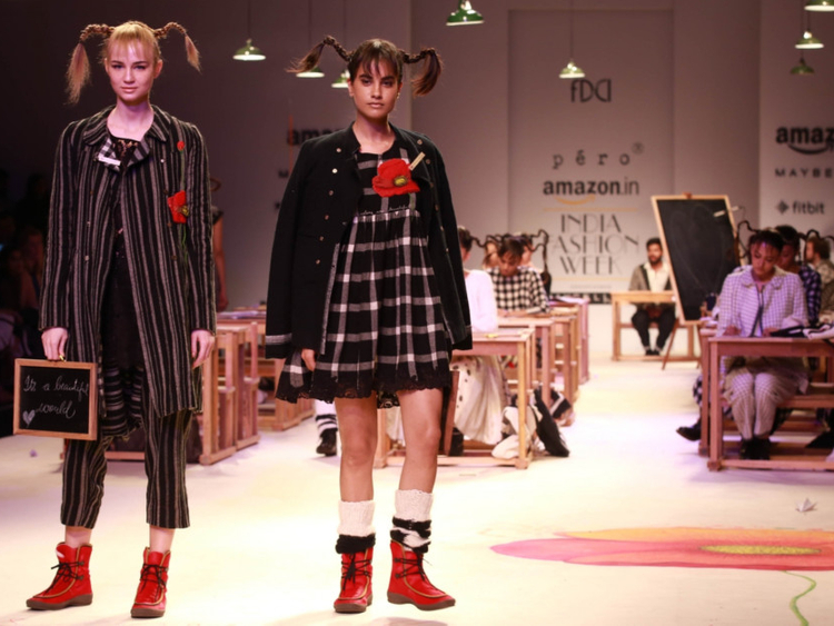 Checking Out Pippi Longstocking From >> Aneeth Arora Inspired By Pippi Longstocking At Aifw