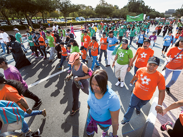 10,000 people take part in 'Walk for Education' event