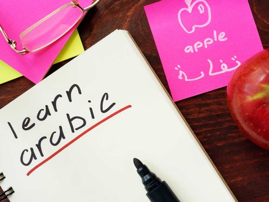 Rise in number of expats learning the Arabic language