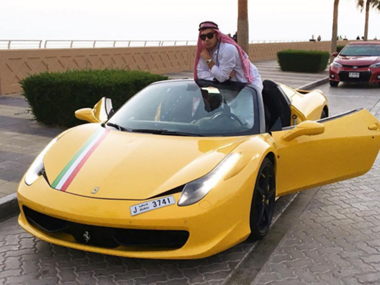 Dubai Ferrari Crash: Canadian Boxer Cody Nixon Among