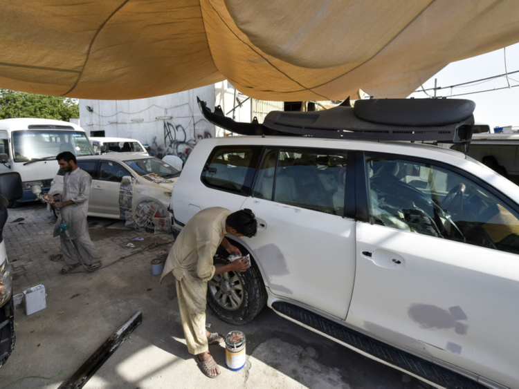 adaf335a66 Total-loss cars from US hurting Dubai market