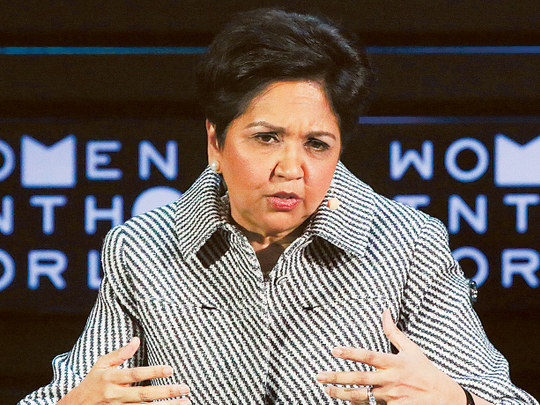 Indian-American former PepsiCo head Indra Nooyi inducted into Smithsonian National Portrait Gallery in US - Gulf News