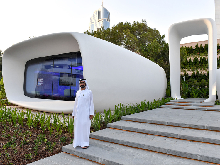 D Printing Dubai Exhibition : World s first d printed building in dubai
