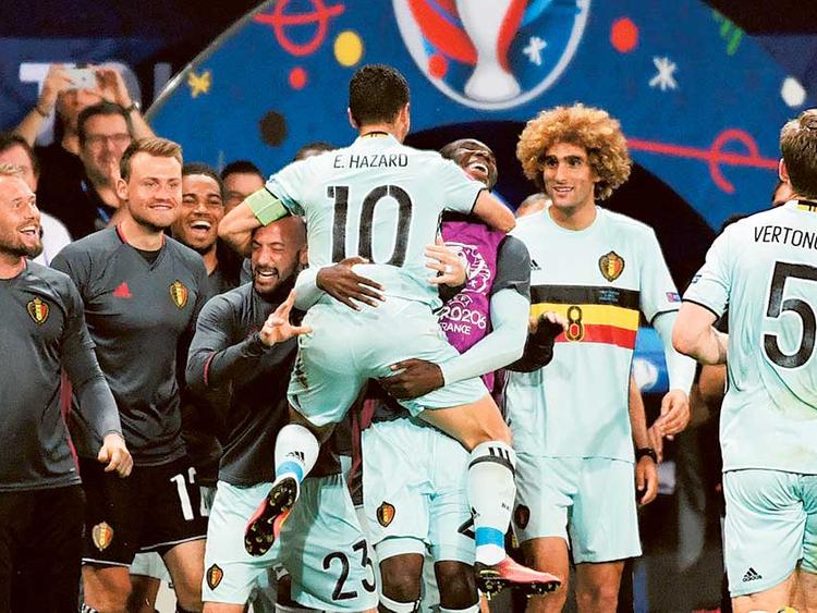 sports shoes af125 43ea8 Eden Hazard holds keys for Belgium on Lille homecoming ...