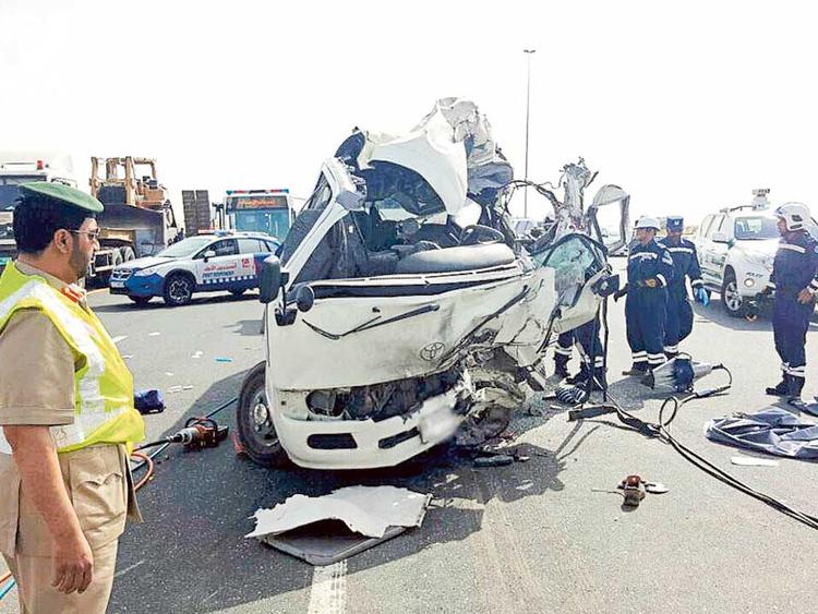 Watch: Fatal car crash on Emirates Road | Uae – Gulf News