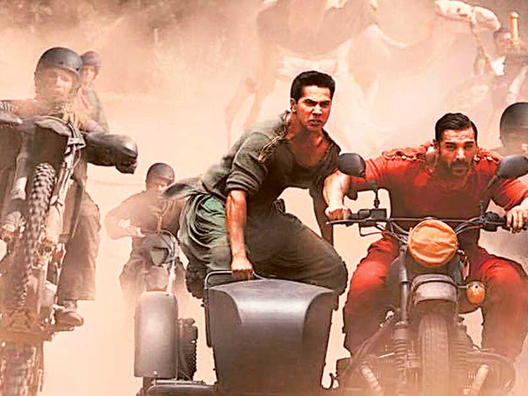 Film Review Dishoom Is A Tale Of Cliches Movie Reviews Gulf News