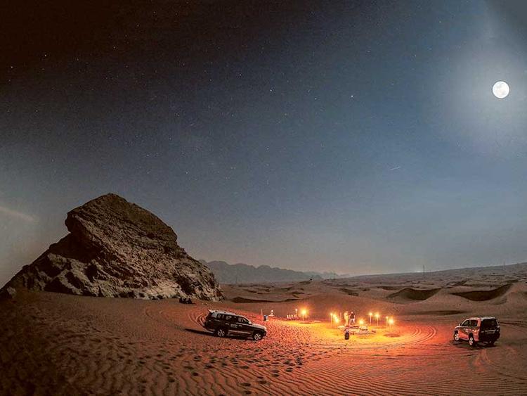 Where to Propose in Dubai   The Desert