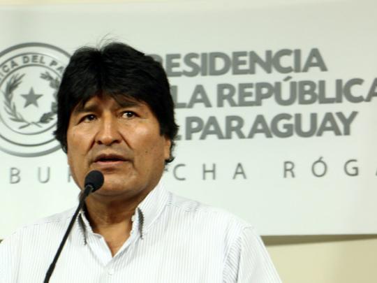 Evo Morales — A Mexican standoff in Bolivia