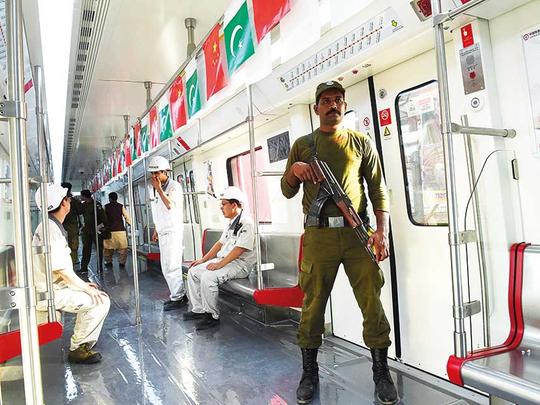 Pakistan Metro Will Cover 27km
