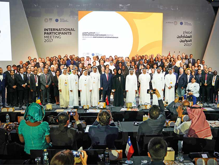 Nearly 150 nations confirm participation in Expo 2020