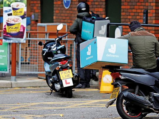 Deliveroo's latest funding round values firm at over $7 billion