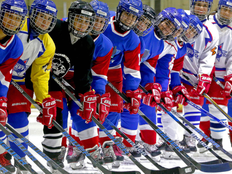 Kuwait Ice Ladies Lace Up For World Hockey Tournament