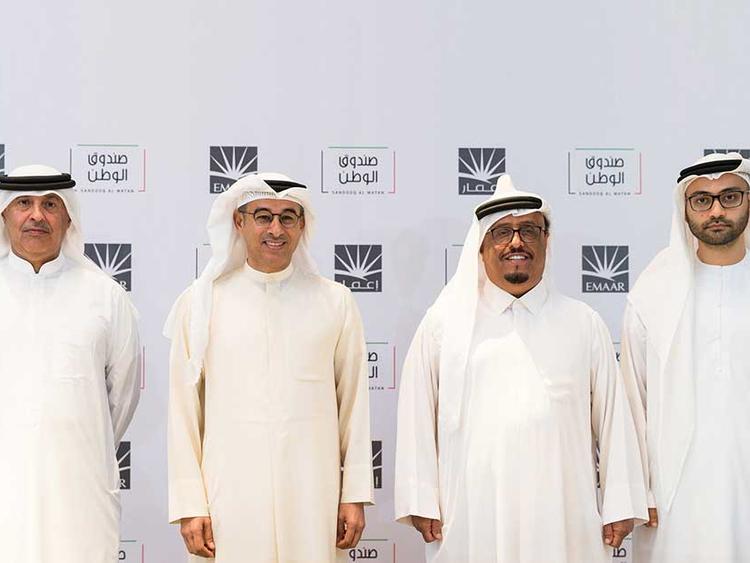 Emaar contributes Dh62 million to Sandooq Al Watan