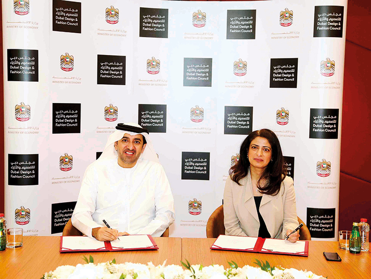 Dubai Design And Fashion Council Signs Mou With The Ministry Of Economy Business Gulf News