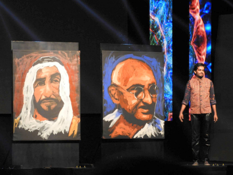 Top Renowned speed painter astounds audience | Uae – Gulf News WV29