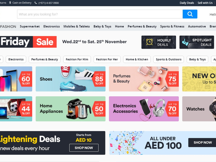 Souq enjoys biggest online shopping event, sells more than