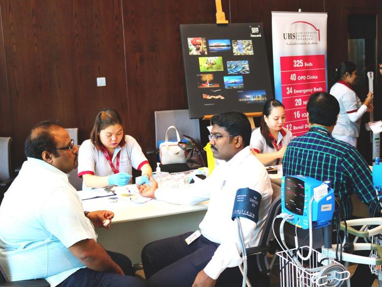 Hospital partners corporate for wellness scheme