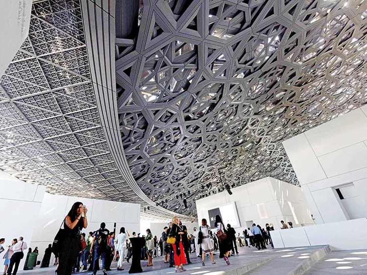 Louvre Abu Dhabi opens to public | Arts Culture – Gulf News