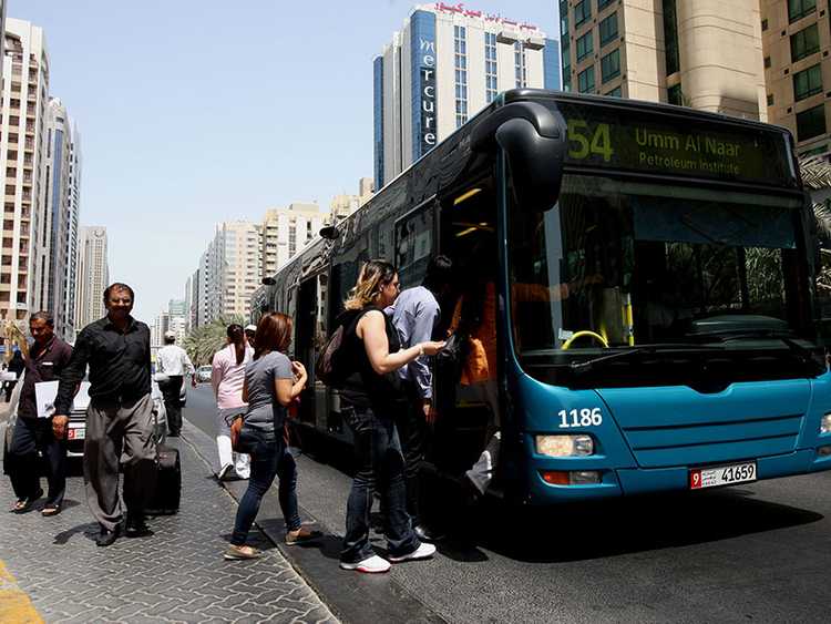 Using Public Buses Made Easy In Al Ain Transport Gulf News