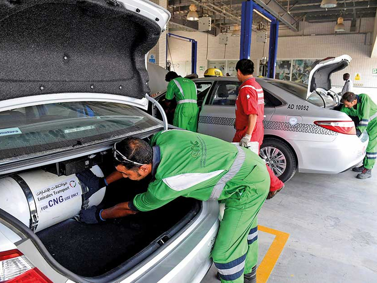 Abu Dhabi speeds CNG conversions for vehicles | Transport