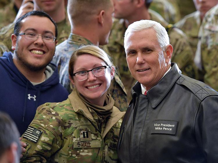 US VP Pence in surprise Afghanistan visit