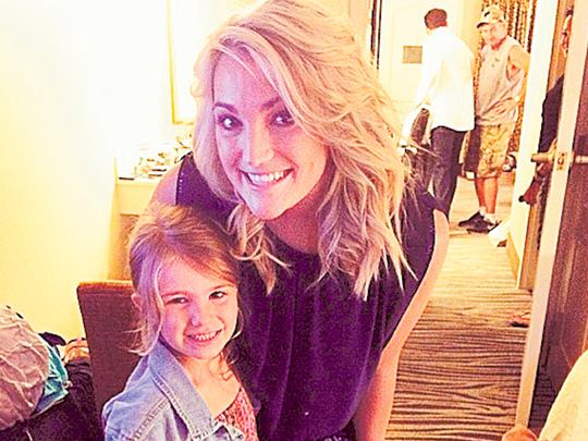 Jamie Lynn Spears' daughter recovering after accident ...