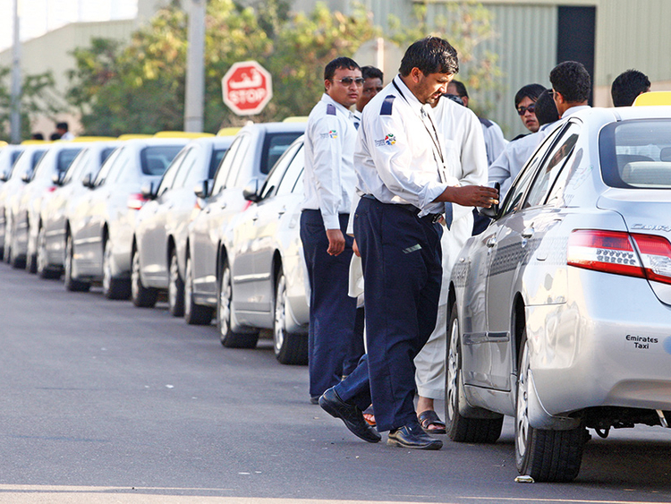 Taxi Drivers In Uae Manage To Steer Demanding Job On The