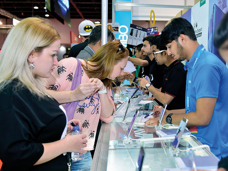 Smartphones, laptops to steal limelight at Gitex Shopper Spring edition