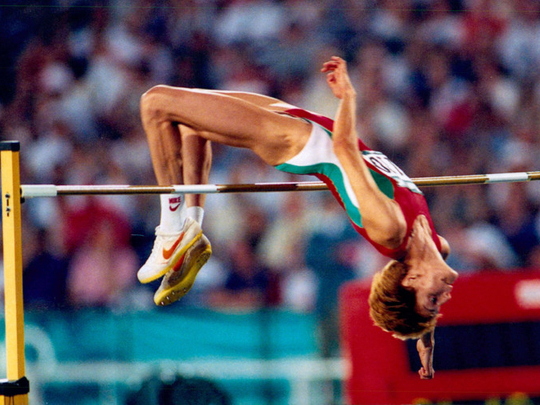 March 8, 1987: Stefka sets high jump world record | Today ...