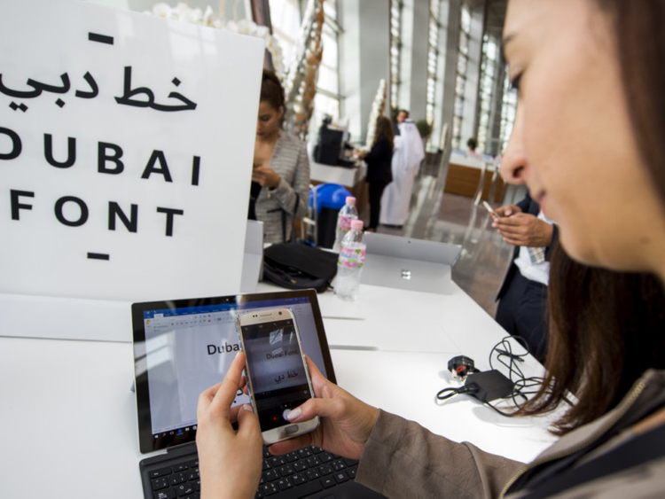 Dubai unveils official new font | Government – Gulf News