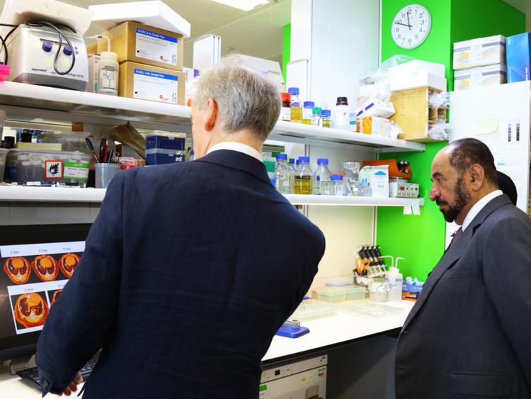 Sultan opens Sharjah Laboratory in London | Health – Gulf News