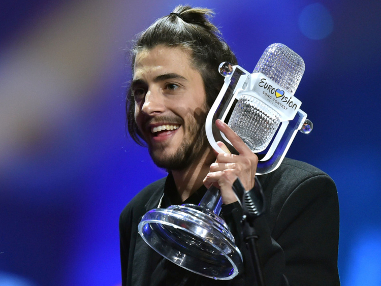 Portugal's Sobral wins Eurovision contest 2017 | Music