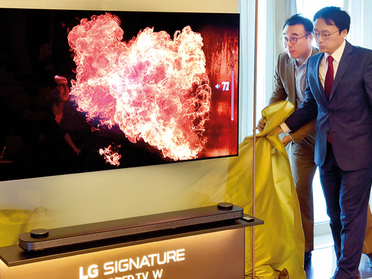LG rolls out wallpaper TV for Dh60,000
